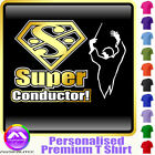 Conductor Band Master Pipe Major Super - Music T Shirt 5yrs - 6XL by MusicaliTee