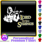 Violin Viola Lord Of The Strings Gandalf - Music T Shirt 5yrs - 6XL MusicaliTee