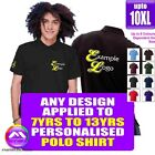 POLO 7 - 13 yrs With Any Music Design Personalised by MusicaliTee
