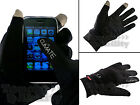 Climate Touchscreen Gloves (for iPhone, iPad, iPod & other touch screen devices)