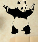 Banksy Graffiti Panda With Guns Art amazing wall stickers decal highest quality