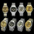 Watches Men Luxury Style Men's Stainless Steel Quartz Wrist Watches Brand New