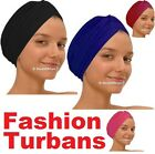 Fashion Turban Head Wear Hat, Ideal For Use During Hair Loss Or Chemotherapy