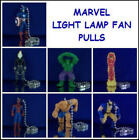 7 NEW RETIRED MARVEL FANTASTIC 4 LIGHT FAN LAMP PULL CONNECTORS YOU PICK ONE
