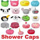 Fun Shower Cap Shark, Frog, Pig, Dog, Cat, Mouse, Duck, Monster, Cup Cake, Owl