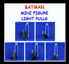 5 NEW DC COMICS BATMAN DARK KNIGHT MINI FIGURE LIGHT FAN LAMP PULLS YOU PICK ONE