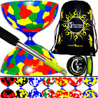 Diabolo Set + Metal Diablo Sticks, 10m Diabolo String + FREE Diabolos Travel Bag