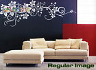 "Wall Decor Decal Sticker Removable Large Vinyl flower vine A 60""W"