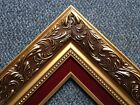 GOLD RED Ornate Wedding WOOD Photo Picture Frame 1216GR