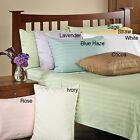 Sale 1000TC Soft Housewife Pillow Case Pair Stripe 100%Egyptian Cotton All Size