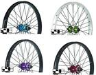 "NEW SAVAGE BMX BIKE 20 "" ALLOY 9 TOOTH REAR WHEELS. CHOICE OF 4 COLOURS. SVWH00."