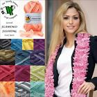 GRUNDL FLAMENCO FLOATING LACY RUFFLE SCARF YARN - 50G - Various Shade Options