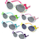 Girls Childrens Sunglasses Polka Dot Bows Cute 6 Colors Pink Purple K27 multi