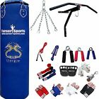 TurnerMAX 13 Piece Boxing Set 4ft Heavy Punch Bag Filled Gloves Boxing Bracket