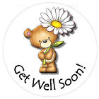 Edible Cupcake Toppers - Get Well Soon Cake Toppers - 6 Designs!