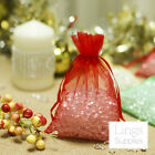 200 Organza Bags 7x10 10x15 12x17cm Wedding Shower Party Favor Gift Candy Pouch