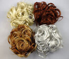 "Scrunchie KATIE 7"" Ex-Large Curly Hair Ponytail Holder Hairpiece COLOR 27 - R150"
