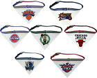 Officially licensed NBA Dog Collar with attached Bandana