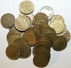 1931 to 1941 France Alluminium Bronze 50 Centimes Your Choice of Date