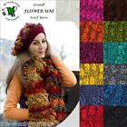 GRUNDL FLOWER UNI KNITTING YARN - 100g - FREE SCARF & HAT PATTERN