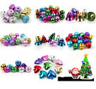 Free Postage 12/60pcs Mixed Metal Copper Jingle Bells Charms Xmas Decoration