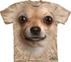 NEW CHIHUAHUA Big Face Dog Chiwawa Chiwowwa The Mountain T Shirt Adult Sizes