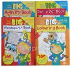 Children Kid Toddler Creative Fun Book Giant Really Big A4 Size Pre School Gift