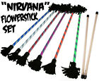 "Flower Sticks: ""Nirvana Pro"" Flower Stick Set + FREE Bag! Devil Sticks Juggling"