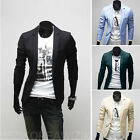 Mens Casual top Design Slim FIT Blazers Coats Suits Jackets Tops XS S M L S1255