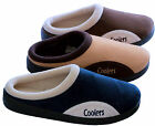 Mens Clog Mule Slip on Slippers Shoes by Coolers Sizes 7,8,9,10,11