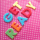 Fondant Edible LETTERS NUMBERS 4cm Cupcakes Cakes Decoration Icing TOP QUALITY