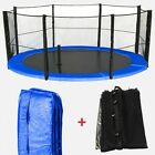 Trampoline Spring Cover Padding &amp; Safety Net Bundle Replacement 6 8 10 12 14 16 <br/> OFFICIAL&copy; We R Sports&trade; eBay Store ◥◤12 Month Warranty◥