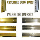 Assorted Door Bars and Covers - Gold & Silver - FREE POSTAGE - Laminate - Carpet
