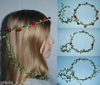 Fairy Bands - Pretty Handmade Floral Headband -Festival  Many Colours -Hairbands