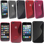 For Apple Iphone 5 5G Thin Soft S Wave Gel Skin Silicone Mobile Phone Case Cover