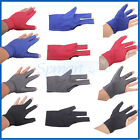 4-COLOR PRO Left Hand 3 FINGER SHOOTER GLOVE POOL SNOOKER BILLIARD CUE TABLE NEW