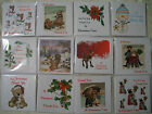 Christmas Thank you cards - pack of 6 cards, various designs to choose from