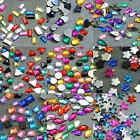 Acrylic Rhinestones Flat Back Random Mix in Varies Styles and Lots - Scrapbook
