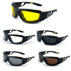 Choppers Motorcycle Biker Goggles Mirror Lens Night Driving Polycarbonate CP915