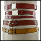 ELVIS & KRESSE [UK] Fire Hose Hand-Made Unisex Belt Several Sizes & Colours BNIB