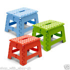 FOLDING KITCHEN STEP / STOOL - GARAGE MINI FOLD AWAY STURDY STEP HOME BATHROOM