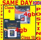 4gb SDHC Memory Card to Panasonic Lumix DMC-F, -FH, -FP, -FT, FZ Series Camera