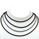 Velvet Stretch Metal Free Cord Necklace w/ Easy Clasp, Perfect for Beads