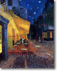 HUGE Van Gogh Cafe Terrace Stretched Canvas Giclee Art Repro Print ALL SIZES