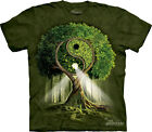 YIN YANG TREE The Mountain T Shirt Buddha Unisex