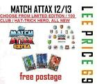 MATCH ATTAX EXTRA 12/13 HAT-TRICK HERO / HUNDRED / 100  CLUB / LIMITED EDITION