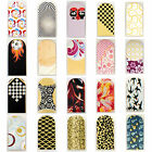 16pcs Nail Foil Nail Art Sticker Patch Nail Wraps for Fingers & Toes 349368