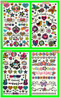 WOMEN/MEN/BOY/GIRL NEW DESIGN TEMPORARY TATTOOS 4 VARIOUS STYLE AVAILABLE CHOOSE