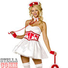 Ladies SWEETHEART NURSE Hen Do Xmas Naughty Sexy Fancy Dress Costume Outfit