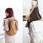 Korean Style Womens Bag Faux Leather Backpack Shoulder Bag Handbag SchoolBag